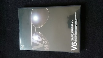 V6 MUSIC STATION SPECIAL DVD 岡田准一 三宅健 森田剛 即決