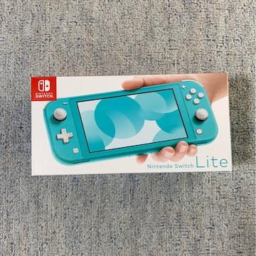 ★Nintendo Switch Lite 本体 ターコイズ★ ※新品未使用品※