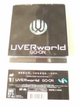 (CD+DVD)UVERworld/ウーバーワールド☆GO-ON[初回盤]帯付き