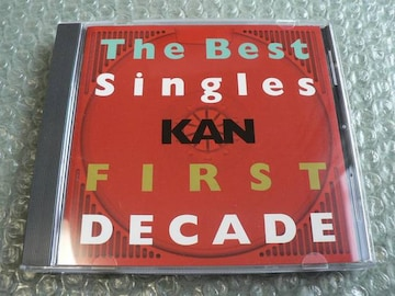 KAN【THE BEST SINGLES FIRST DECADE】ベストCD/愛は勝つ