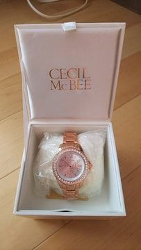 CECIL McBEE腕時計キラキラゴージャス派手