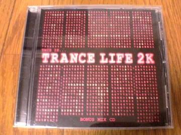 CD THIS IS TRANCE LIFE 2K BONUS MIX CD