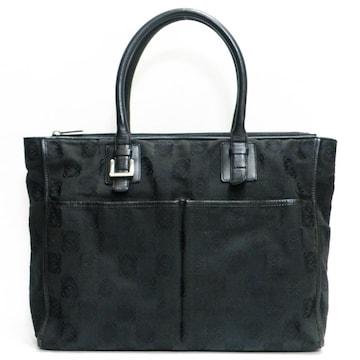 LOEWEロエベ 書類バッグ ロゴ柄 黒 良品 正規品