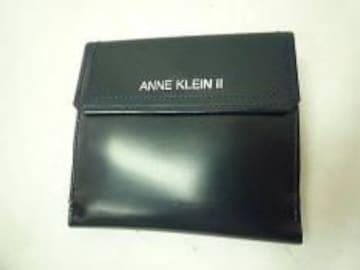 正規ANNE KLEIN �U両面財布☆ネイビー美品