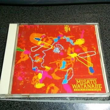 CD「渡辺美里作品集/MISATO WATANABE INSTRUMENTAL」91年盤