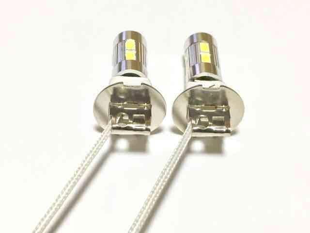 12/24V兼用 LEDフォグランプ H3 ホワイト6000k 5730SMD < 自動車/バイク