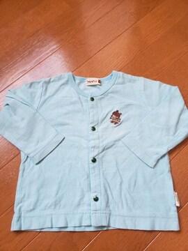 ☆美品☆ティンカーベル☆水色長袖カットソーTシャツ☆90