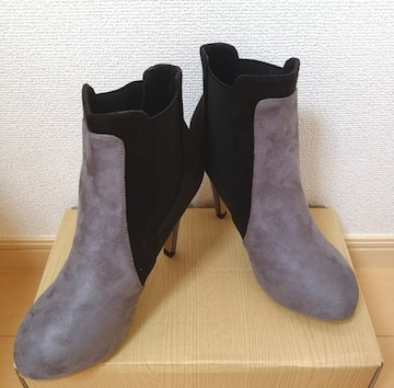 送料込み 新品未使用 サイドゴア ショートブーツ