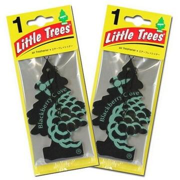 【送料無料】リトルツリー 芳香剤 お得2枚セット/ブラックベリー