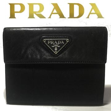 良品 1スタ★プラダ/PRADA ミラノ【イタリア製】財布