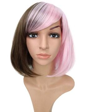 Wigs2you C-011 C-DarkieBlonde/Light Pink☆コスプレウィッグ