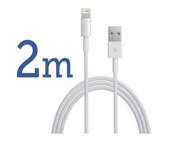 2m iPhoneXs/8/7/6 ipad mini Lightning USBケーブル