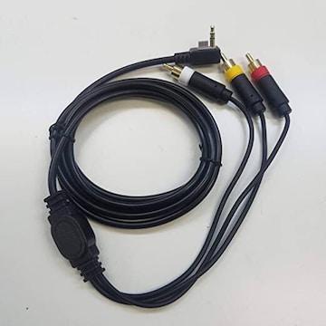PSP 3000 2000 コンポジット端子 AV ケーブル オリジナル結束バ