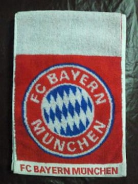 ヨーロッパ ユーロ サッカー ドイツ バイエルン ミュンヘン マーク マフラー タオル