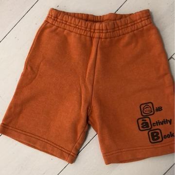 eaB 短パン95cm オレンジ