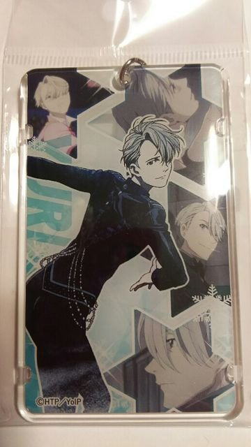 ユーリ!!!on ICE☆ICカードケース ヴィクトル  < アニメ/コミック/キャラクターの