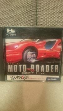 中古 貴重!PCエンジン Huカード モトローダー メサイヤ 1989