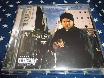 ICE CUBE『AMERIKKKA'S MOST WANTED』リマスター盤/良好 (N.W.A.