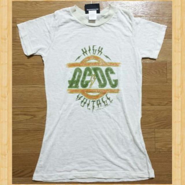 JUNK FOOD ジャンクフード ACDC コラボ Tシャツ S 美品 < ブランドの