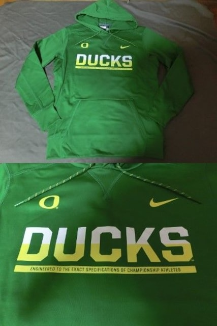Nike【THERMA-FIT】OREGON DUCKSパーカーUS XL < ブランドの