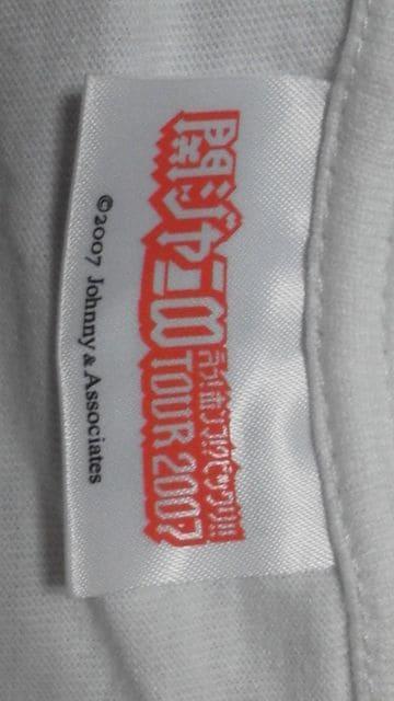 美品関ジャニ∞記念「47コンサートツアー・全国制覇」限定公式Tシャツ必見 < タレントグッズの