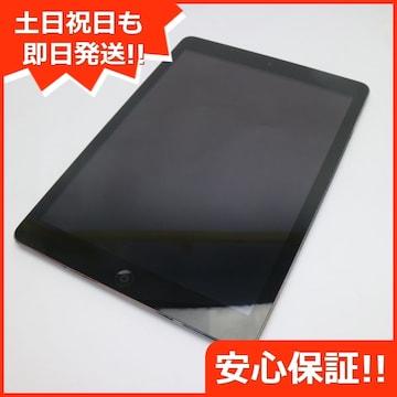●美品●SOFTBANK iPad Air Cellular 16GB スペースグレイ●