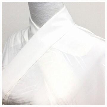 極上 長襦袢 単衣仕立て クリーム色 身丈145センチ前後対応 中古