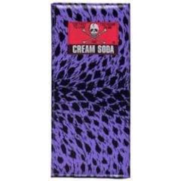 クリームソーダ紫色ヒョウ柄長財布パープル豹柄レオパード