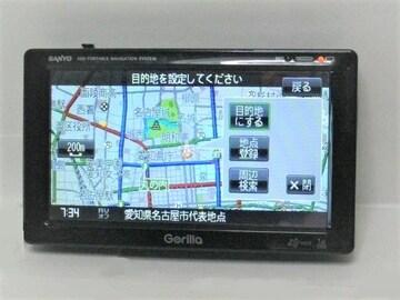★サンヨー 2009年製ワンセグナビ 5,2V型ゴリラ<NV-SB540DT>ナビ本体のみ