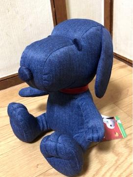 ■SNOOPY/デニム スヌ-ピ-*ぬいぐるみ with■
