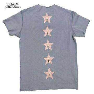 ルシアンペラフィネメンズWALK OF FAME TシャツSグレーluc