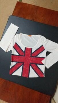 国旗柄Tシャツ