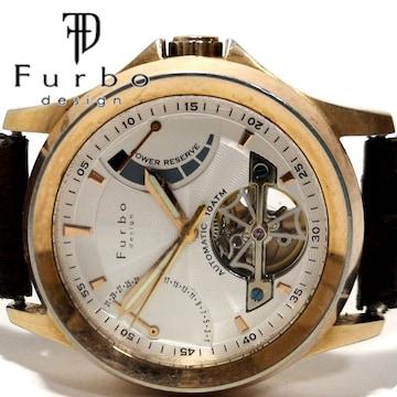 極レア FURBO フルボ【自動巻き】スケルトン 美しいメンズ腕時計
