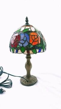 ティファニーランプ ステンドグラス 薔薇 照明 インテリア