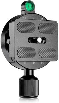 NEEWER 55mmスクリューノブクランプ 50mmクイックリリースプレ