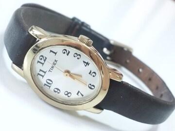 12371/TIMEXタイメックス可愛いオーバル型フェイスレディース腕時計格安出品