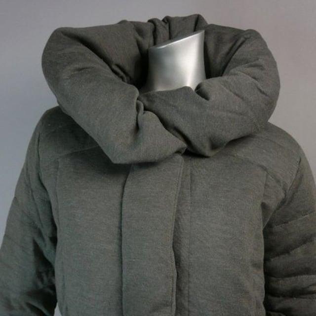 ダウン70%使用★ふんわり&すっきりコート 【新品★M】 < 女性ファッションの