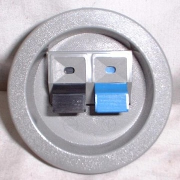 高級丸型SP端子板スピーカーBOX製作に是非新品10個!! ♪♪