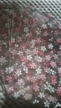 クリアパック*桜柄*10枚