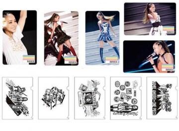 安室奈美恵 Finally セブン限定特典 オリジナルnanacoカード&クリアファイル セット