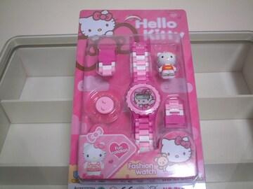 ★必見★激安★Hello★Kitty★可愛い★ピンク★腕時計★新品★