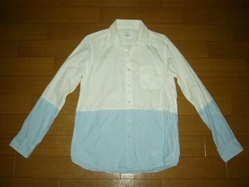 uniform experiment ツートン ストライプシャツ1SOPHNET.