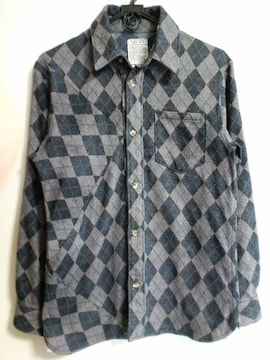 Sifury アーガイルネルシャツ シフリーshirt108 [re] SEED
