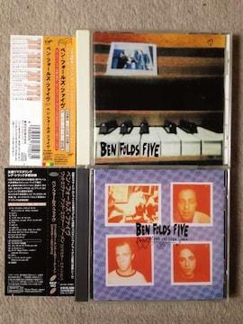 ベンフォールズファイヴ 国内盤CD 2枚セット 帯あり ピアノ ロック 送料=360円