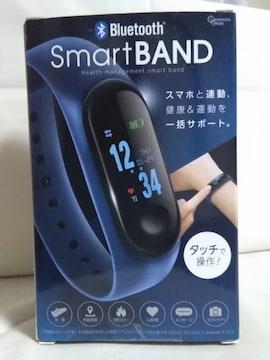 Bluetooth スマートバンド ブルー