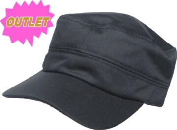 OUTLET ミリタリー キャップ cap 帽子 黒 M896
