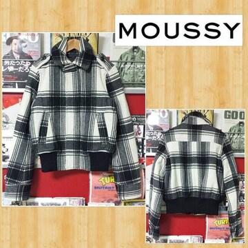 moussy マウジー 中綿キルティングジャケット ブルゾン 1