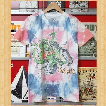 RAT FINK Ed Roth Tシャツ S 未使用 ラットフィンク エドロス