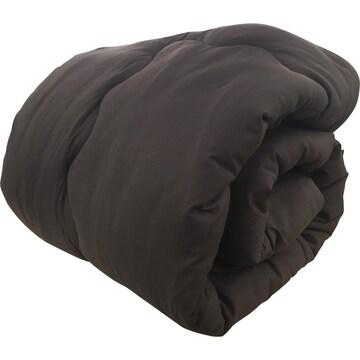 掛け布団 吸湿発熱布団 洗える 抗菌 防臭 軽量 ブラウン