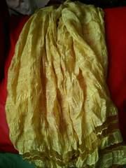 黄色*シンプル**ストール*